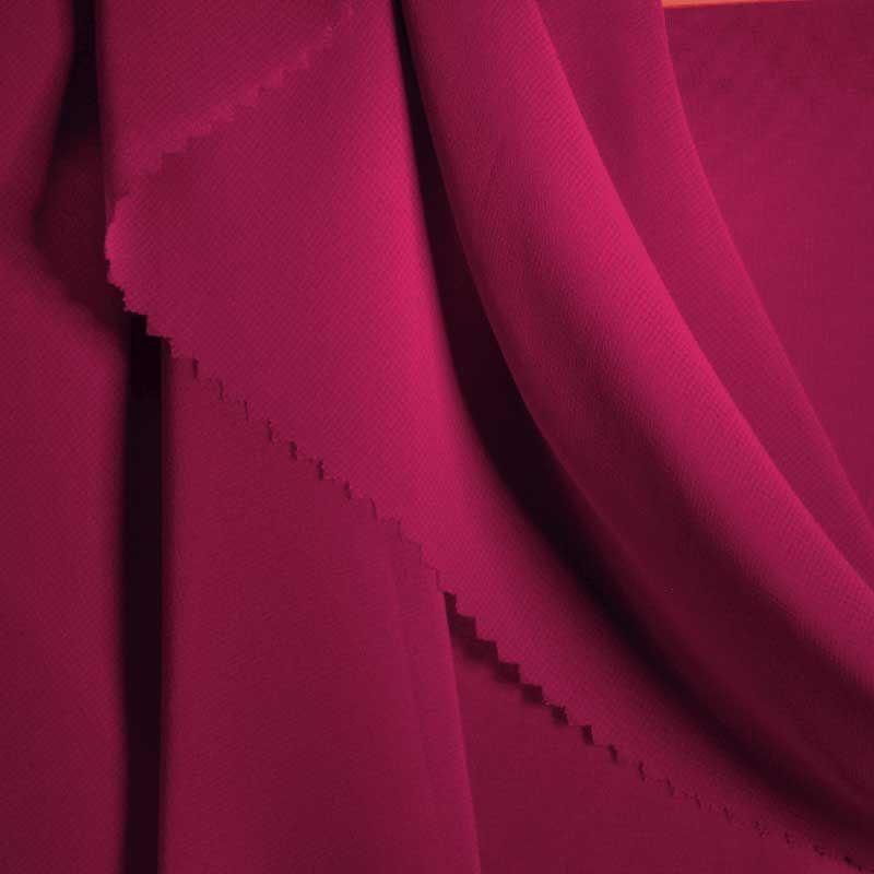 MULTI-HI / MAGENTA 1281 / 100% Polyester Hi-Multi Chiffon