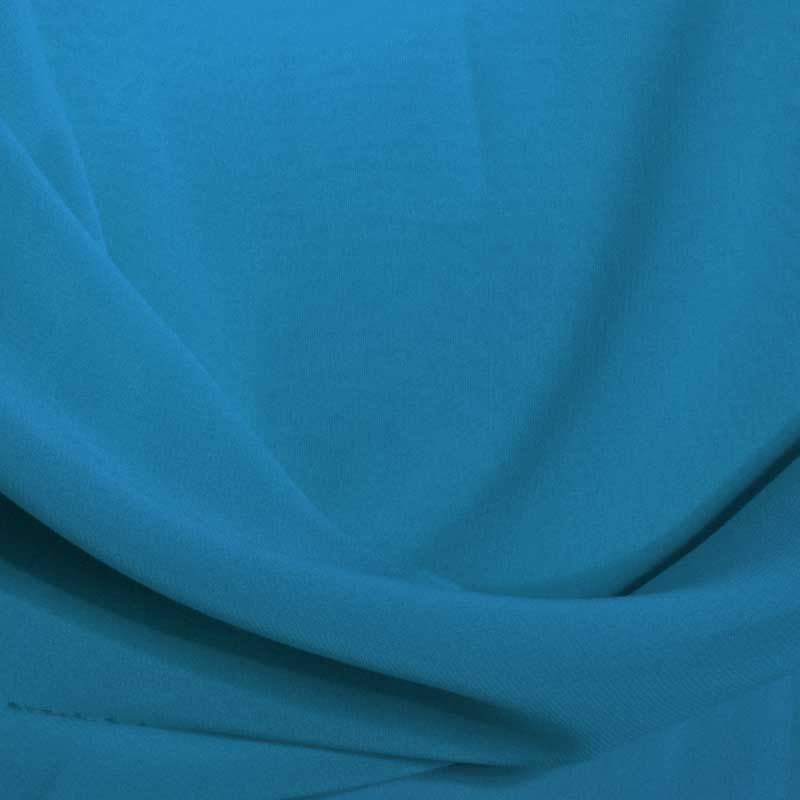 MULTI-HI / TURQUOISE 1142 / 100% Polyester Hi-Multi Chiffon