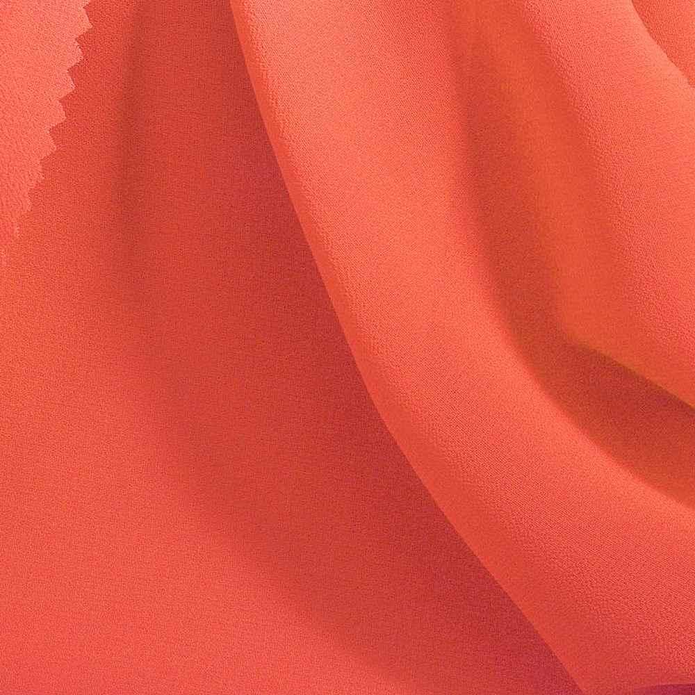 MULTI-HI / NEON CORAL / 100% Polyester Hi-Multi Chiffon
