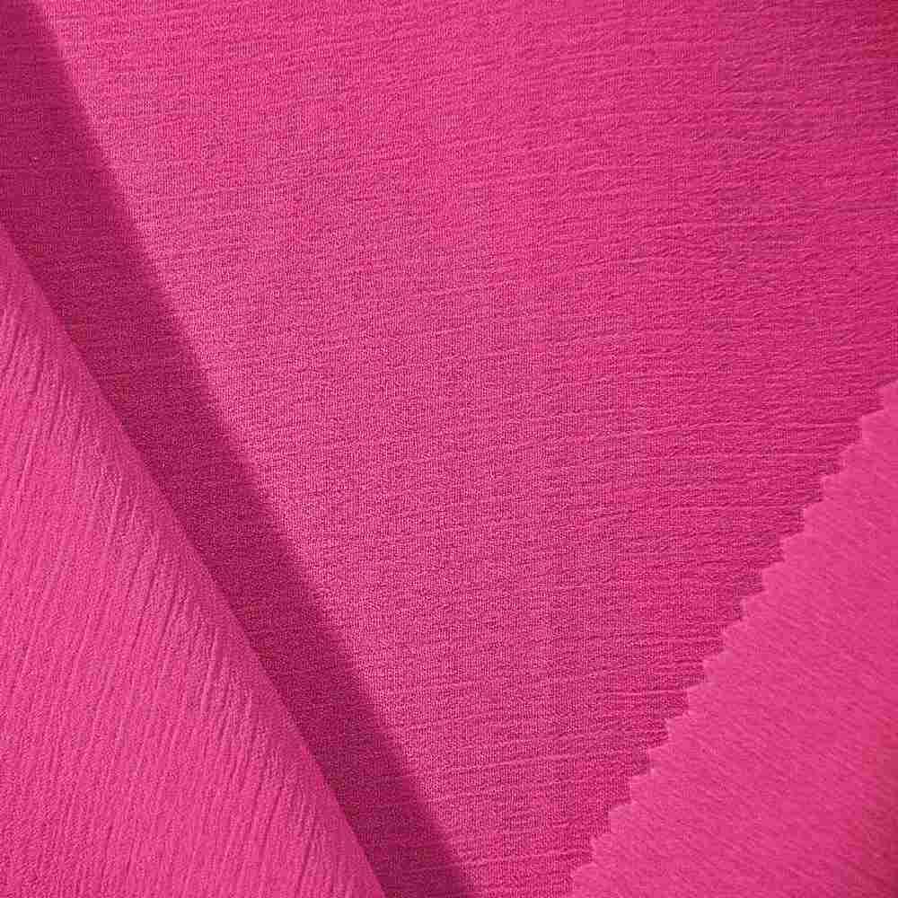 YORYU 060 / FUCHSIA 220 / 100% Polyester Chiffon Yoryu