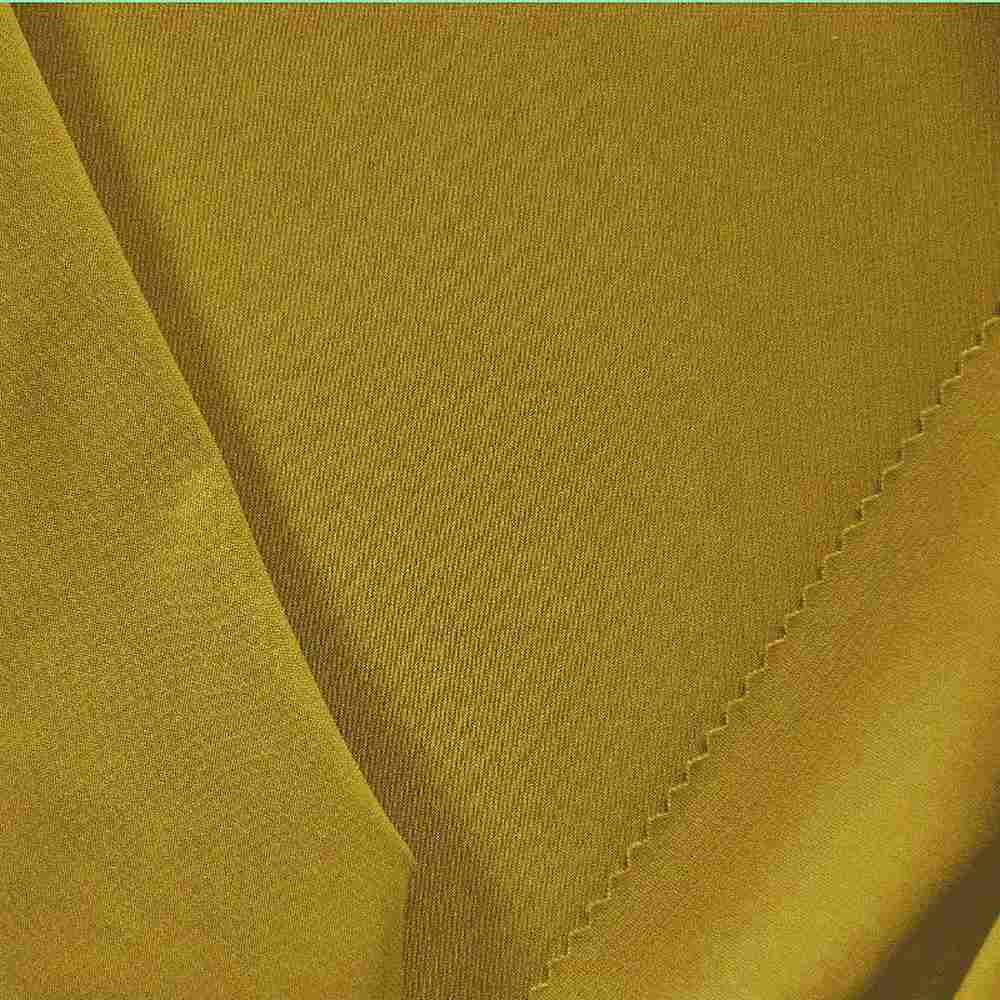 CDC / MUSTARD 1343 / 100% POLYSTER CREPE DU CHINE P/D