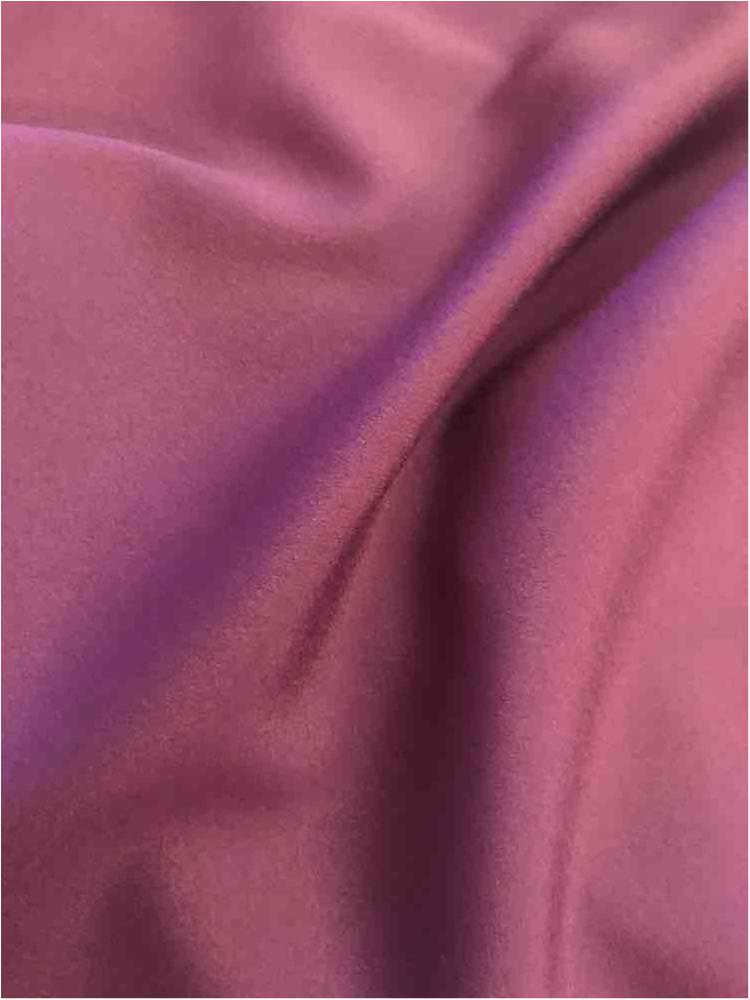 CDC / PURPLE 1255 / 100% Polyester Crepe Du Chine P/D