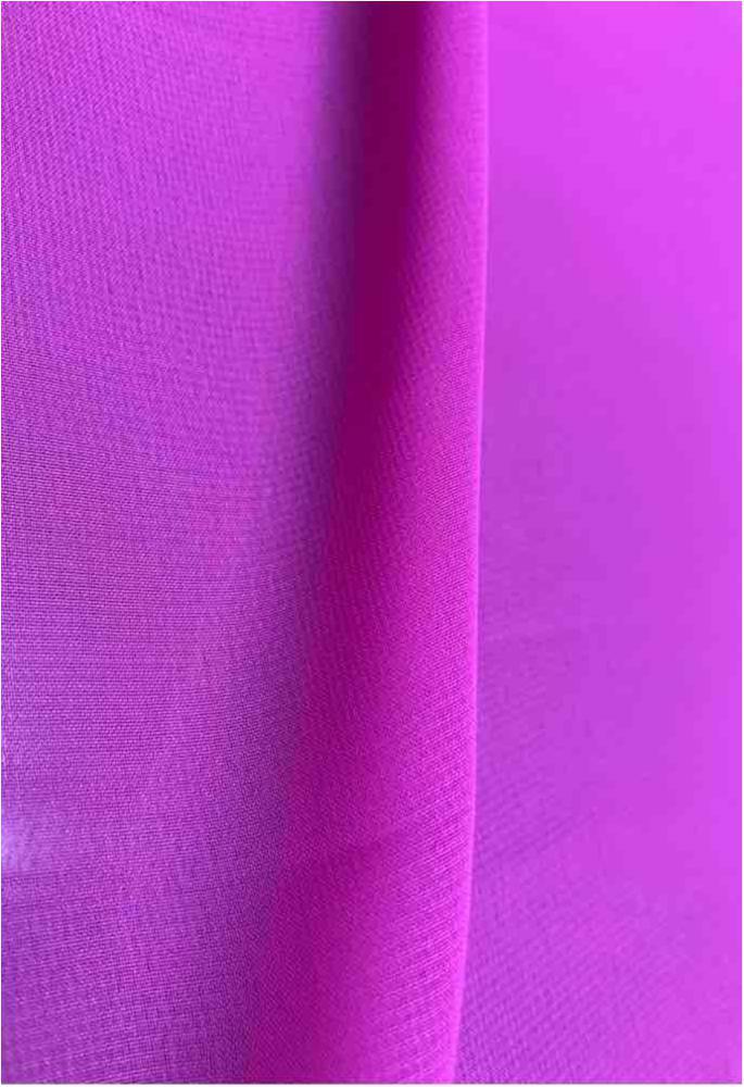 MULTI-HI / FUCHSIA/BRT1229 / 100% Polyester Hi-Multi Chiffon