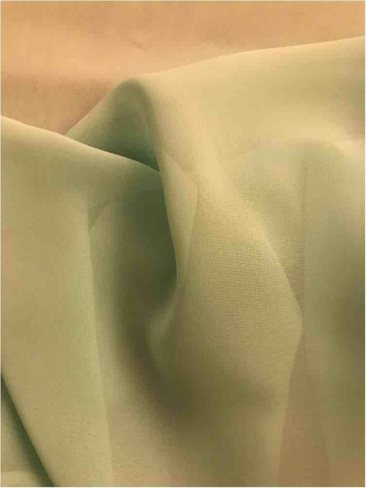 HI-CHS 600 / MIST/GREEN 6110 / 100% Poly Hi-Multi Chiffon -Made in Korea