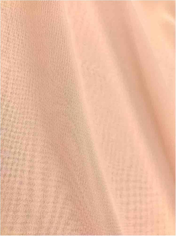 MULTI-HI / ROSE/POWDER 318 / 100% Polyester Hi-Multi Chiffon