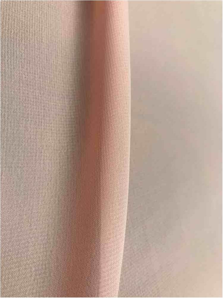 MULTI-HI / BLUSH 4124 / 100% Polyester Hi-Multi Chiffon