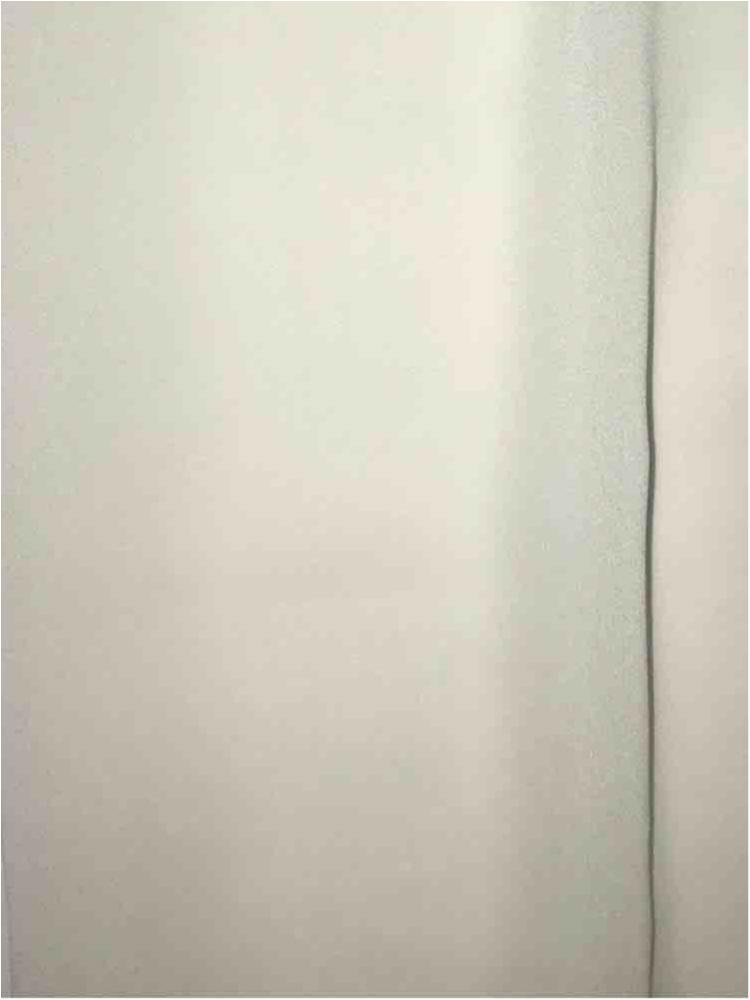 CREPE CHIFFON / IVORY 1113 / 100% Polyester Crepe Chiffon