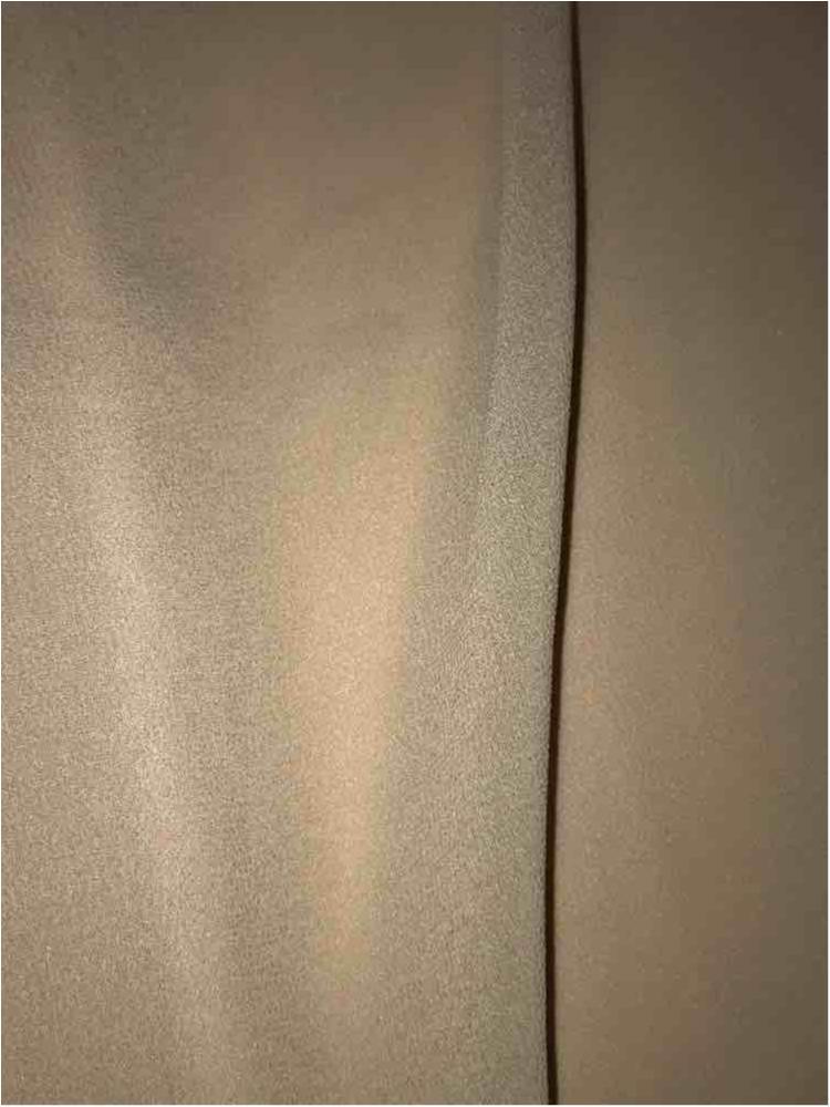 CREPE CHIFFON / BEIGE 594 / 100% Polyester Crepe Chiffon