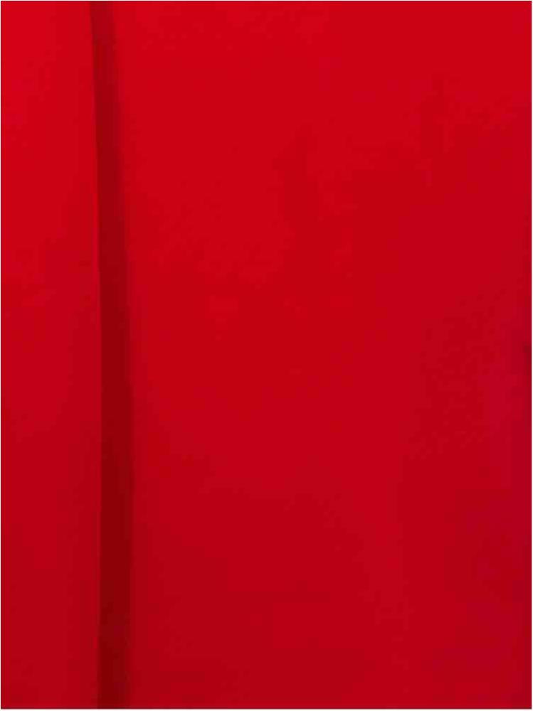 CREPE CHIFFON / RED 1192 / 100% Polyester Crepe Chiffon