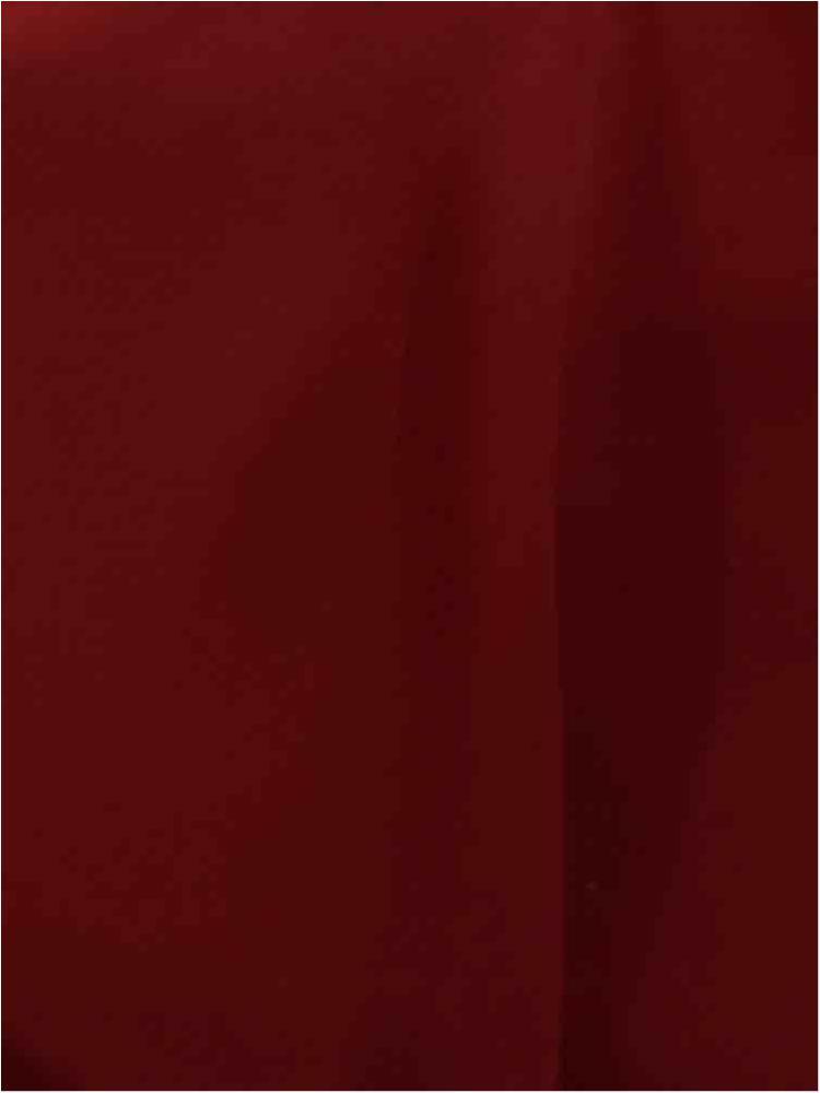 CREPE CHIFFON / BURGUNDY 1232 / 100% Polyester Crepe Chiffon