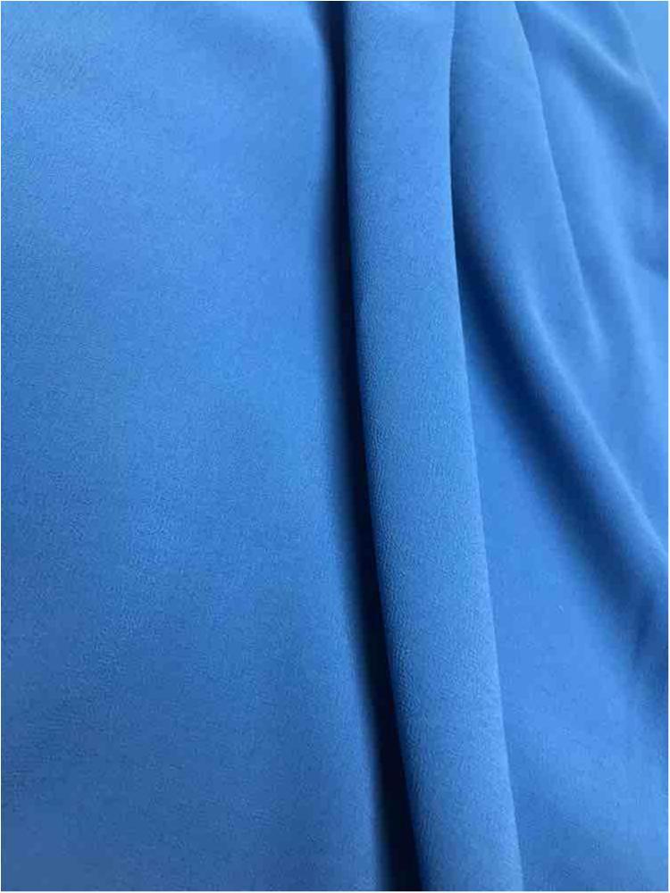CREPE CHIFFON / OCEAN BLUE 1125 / 100% Polyester Crepe Chiffon