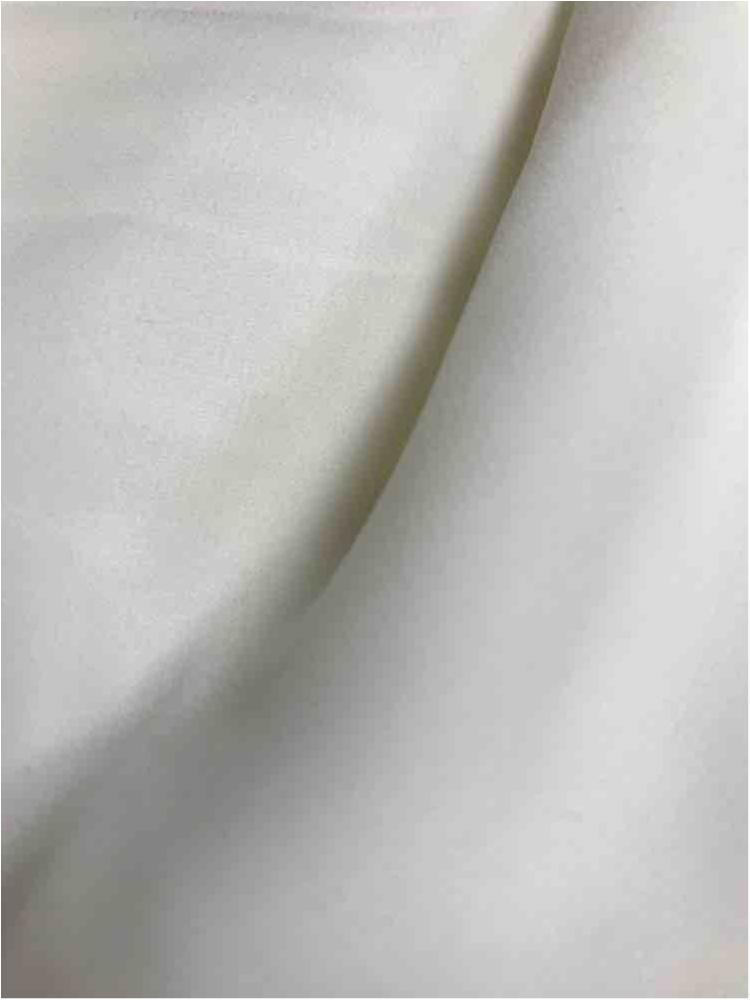 WOOL DOBBY / IVORY 1112 / 100% Polyester Wool Dobby