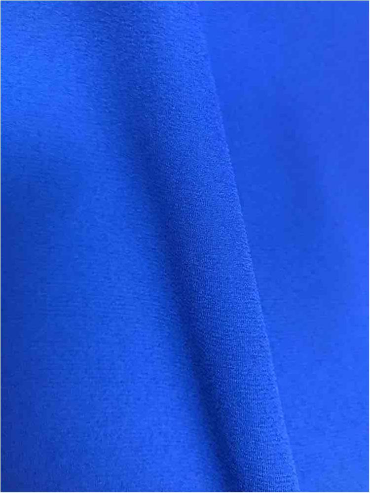 WOOL DOBBY / ROYAL/BRT 1149 / 100% Polyester Wool Dobby