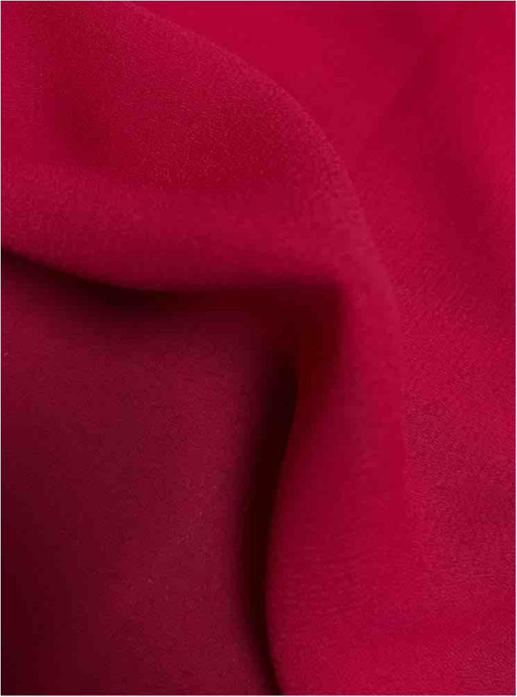 WOOL DOBBY / FUCHSIA 1220 / 100% Polyester Wool Dobby