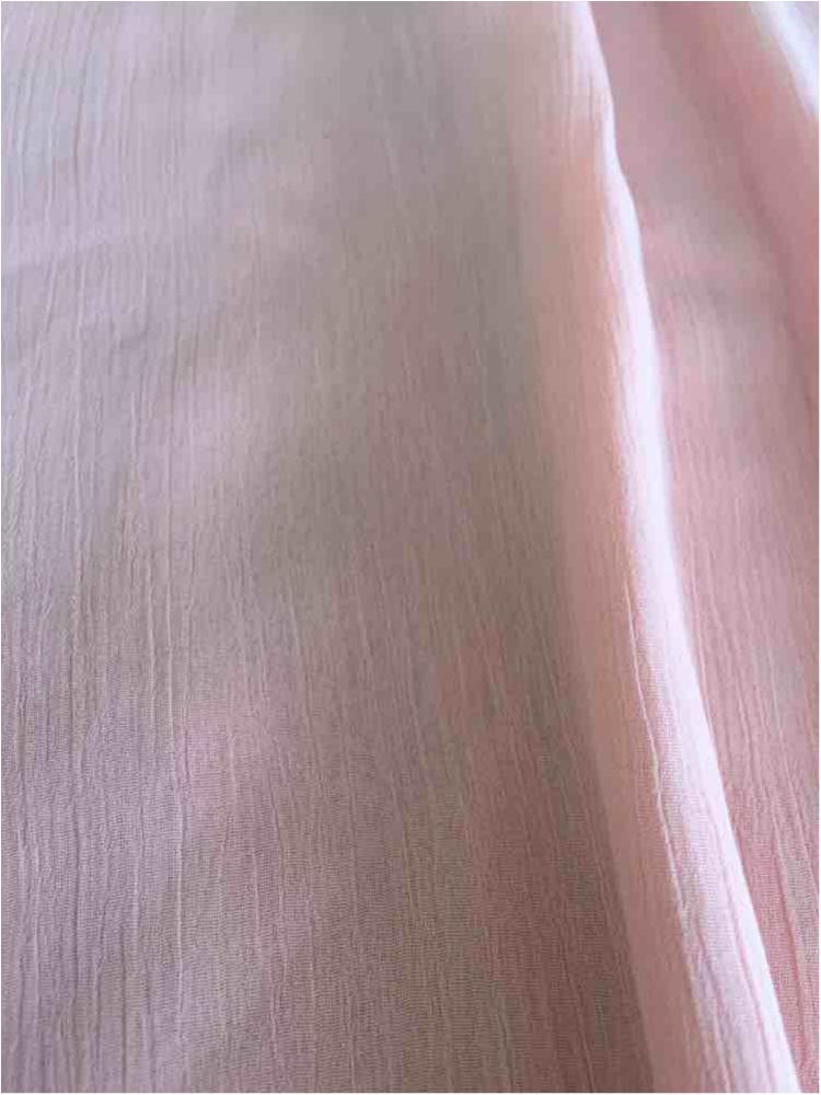 YORYU 060 / PEACH 4122 / 100% Polyester Chiffon Yoryu