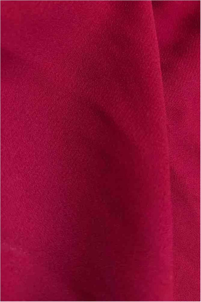 WOOL DOBBY / MAGENTA/D 1522 / 100% Polyester Wool Dobby