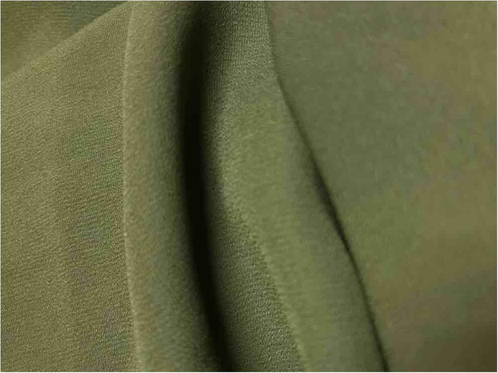 WOOL DOBBY / OLIVE/D 1335 / 100% Polyester Wool Dobby