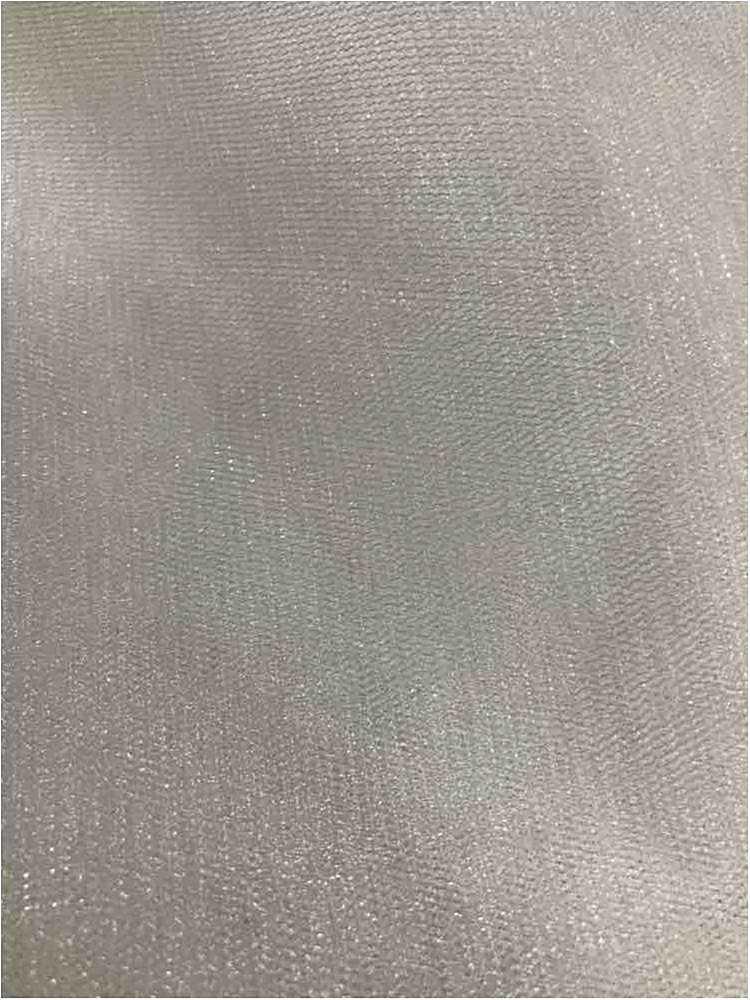 SHINY MESH / WHITE / 100% Polyester Shiny Mesh