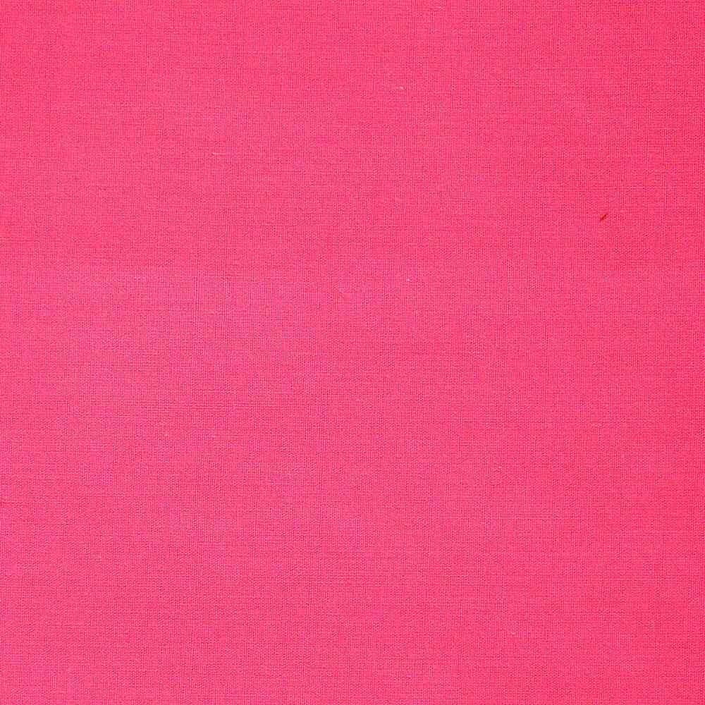 T/C80/20 / HOT PINK 395 / 80% POLY 20% Cotton Broadcloth