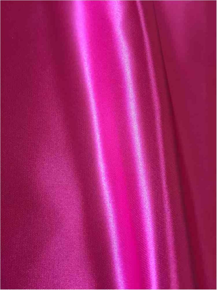 SATIN/POLY 3145 / FUCHSIA 397 / 100% Polyester Bridal Satin