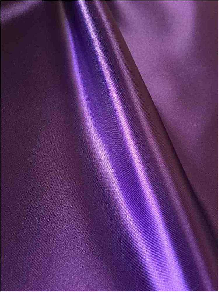 SATIN/POLY 3145 / PURPLE 393 / 100% Polyester Bridal Satin