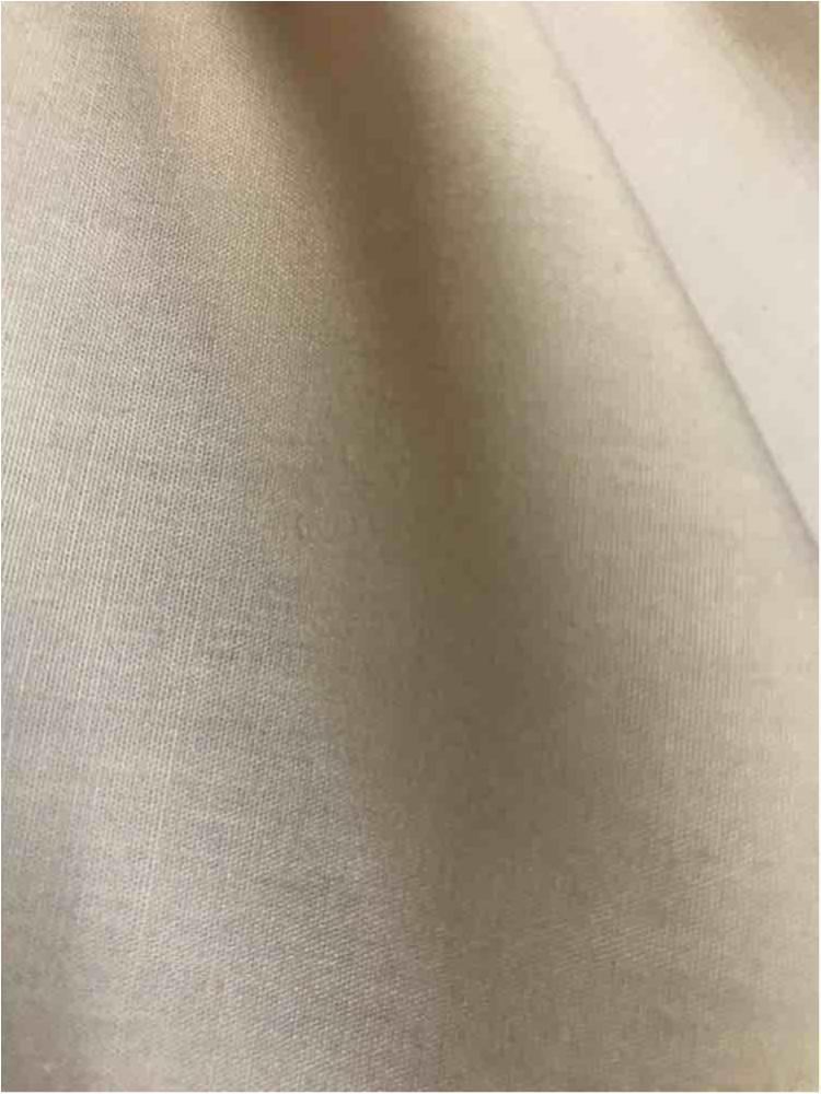 T/C80/20 / KHAKI 183 / 80% POLY 20% Cotton Broadcloth