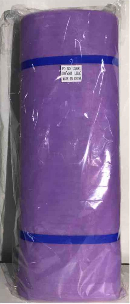 NET9002 / LILAC 17 / 100% Polyester Net Illusion