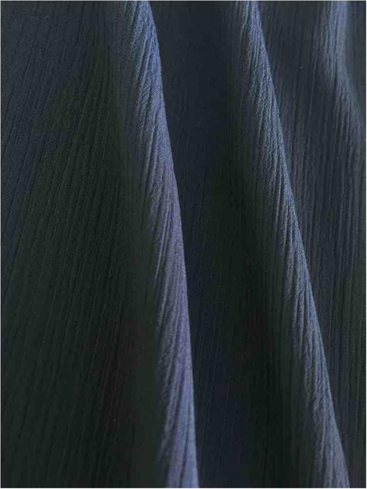YORYU 060 / NAVY 1245 / 100% Polyester Chiffon Yoryu
