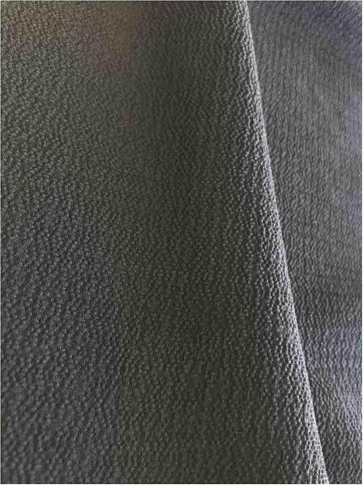 BUBBLE CREPE / BLACK 1115 / 100% Polyester Bubble Crepe
