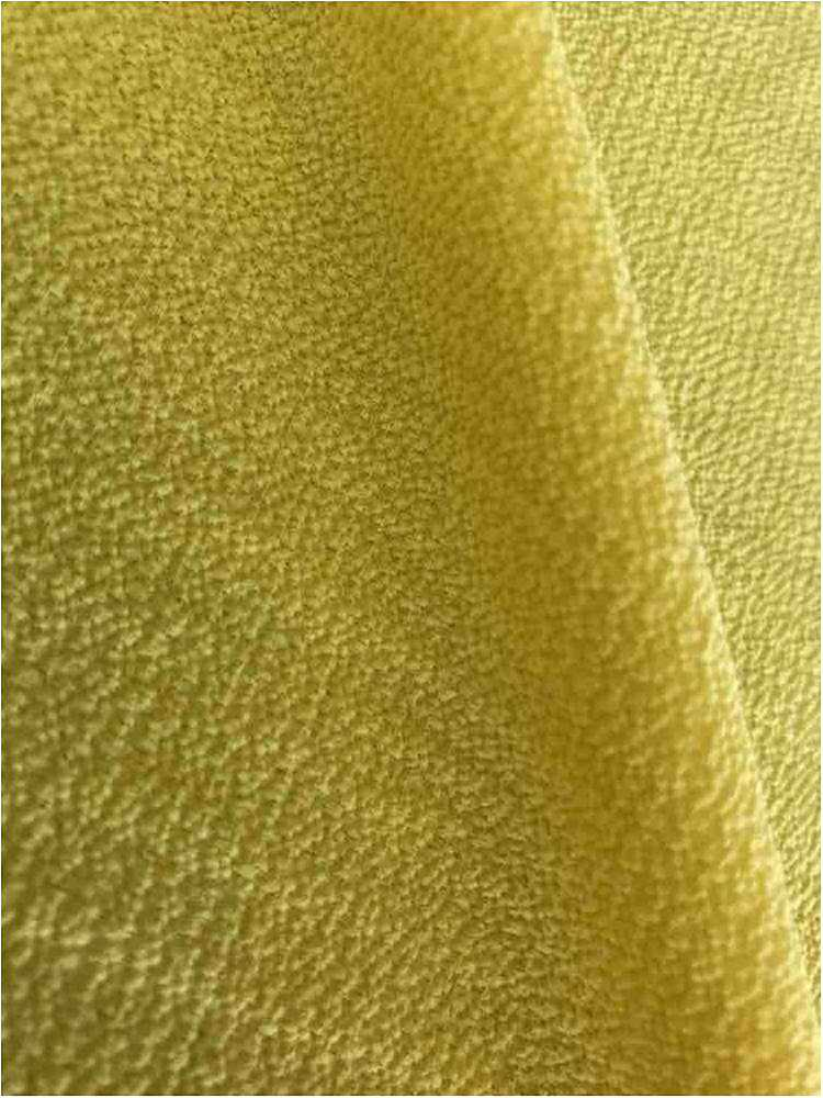 BUBBLE CREPE / YELLOW 7736 / 100% Polyester Bubble Crepe