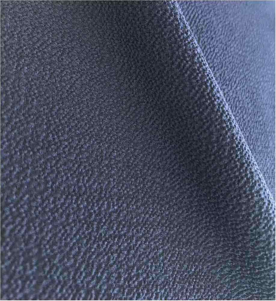 BUBBLE CREPE / NAVY 1245 / 100% Polyester Bubble Crepe