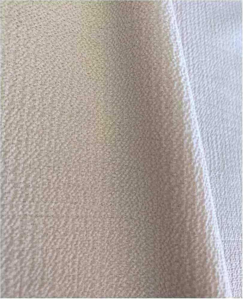 BUBBLE CREPE / ROSE POWDER 1318 / 100% Polyester Bubble Crepe