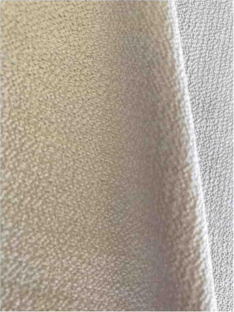 BUBBLE CREPE / SILVER 0065 / 100% Polyester Bubble Crepe