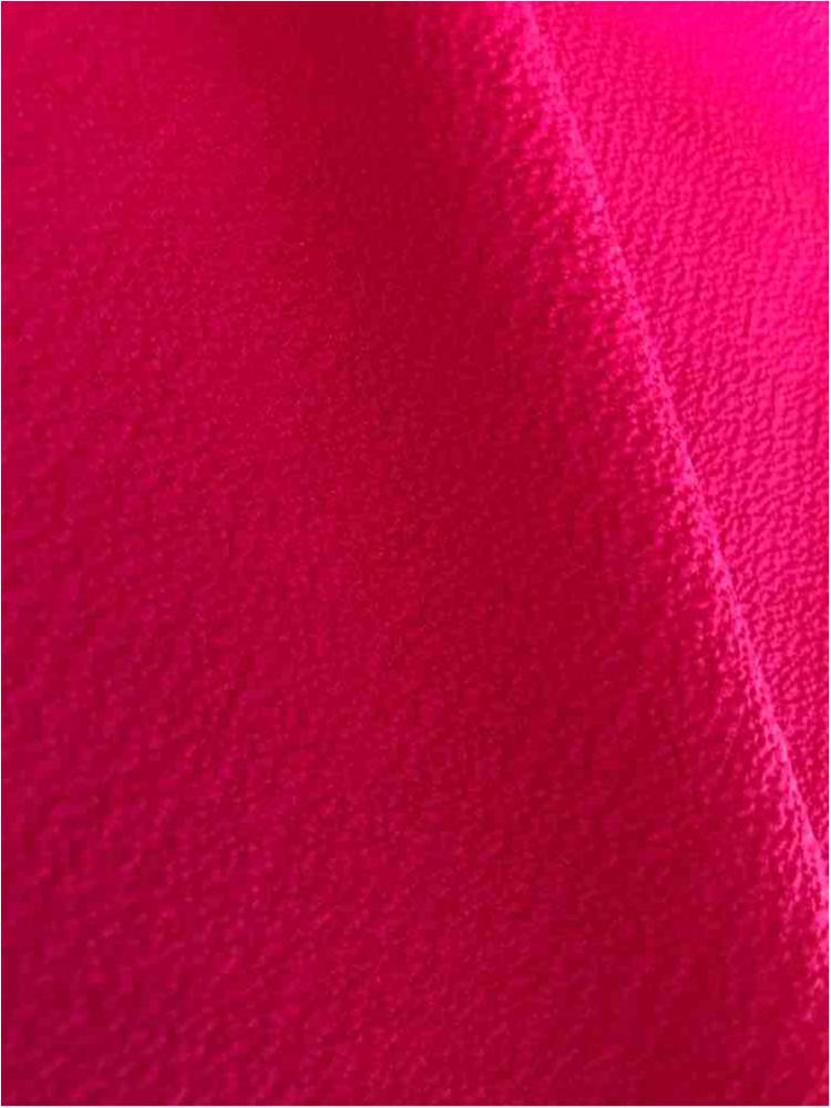 BUBBLE CREPE / FUCHSIA 1220 / 100% Polyester Bubble Crepe