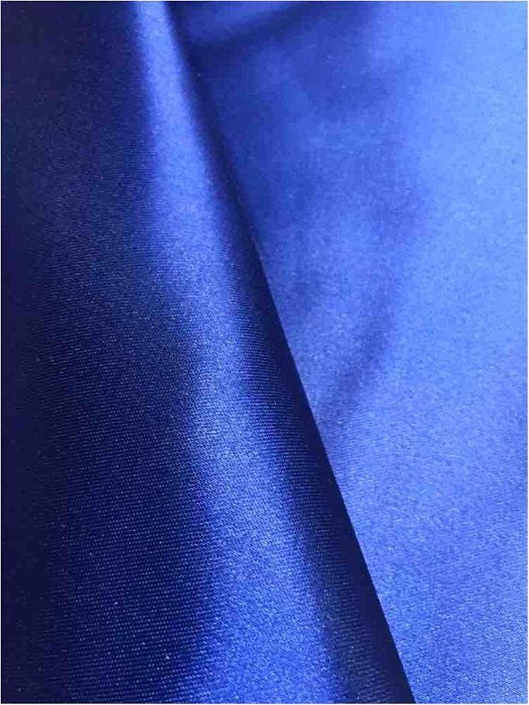 SATIN/POLY 3145 / ROYAL/D 148 / 100% Polyester Bridal Satin