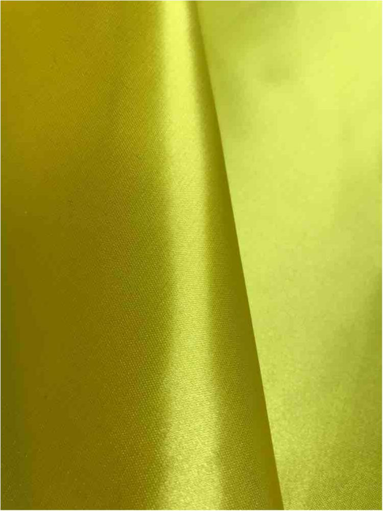 SATIN/POLY 3145 / YELLOW/LEMON337 / 100% Polyester Bridal Satin