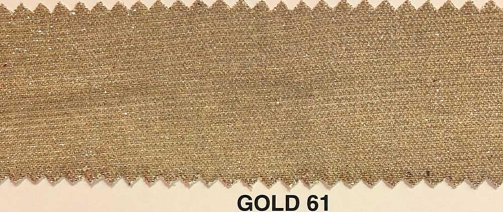 LUREX BONDING / GOLD 61 / 100% POLYESTER LUREX GLITTER BONDING