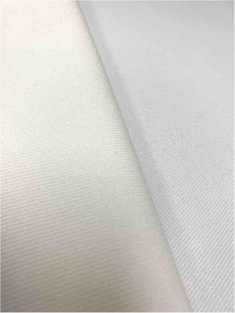 GABARDINE / IVORY 112 / 100% Polyester Gabardine