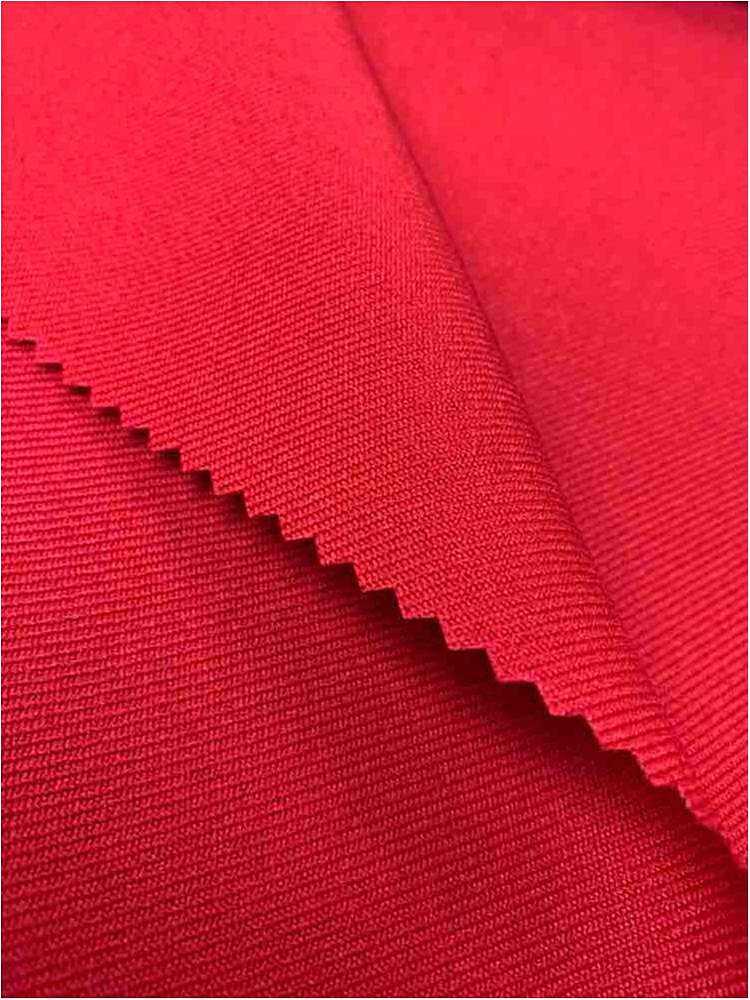 GABARDINE / RED 192 / 100% Polyester Gabardine