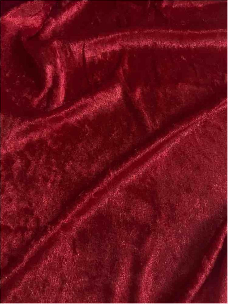 VLS4000 / RED 59 / 100% Poly Pane Velour
