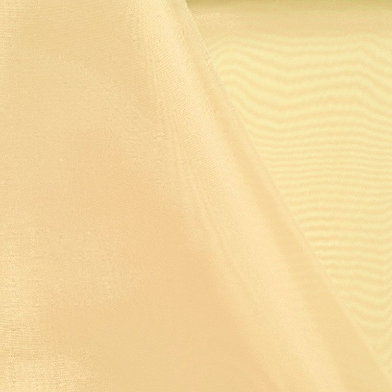 101 CRYSTAL / PEACH 705 / 100% Polyester Crystal Organdy