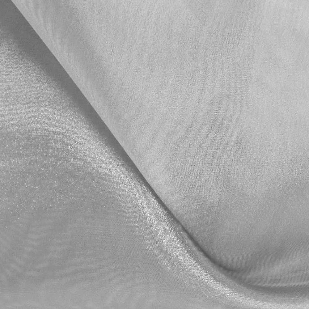 101 CRYSTAL / SILVER 220 / 100% Polyester Crystal Organdy