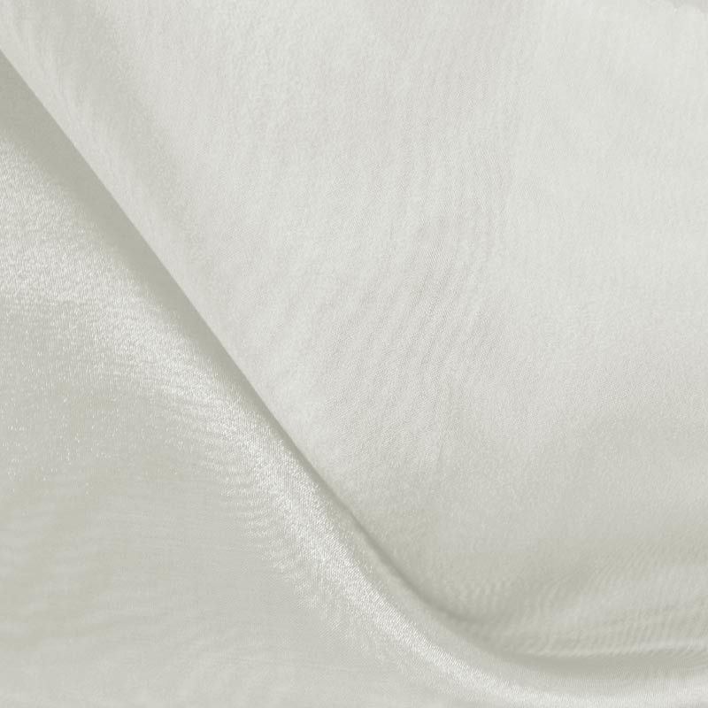101 CRYSTAL / OFF/WHITE 250 / 100% Polyester Crystal Organdy