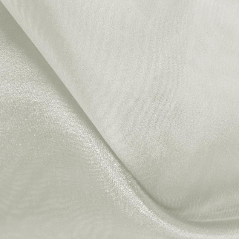 101 CRYSTAL / GRAY/L127 / 100% Polyester Crystal Organdy