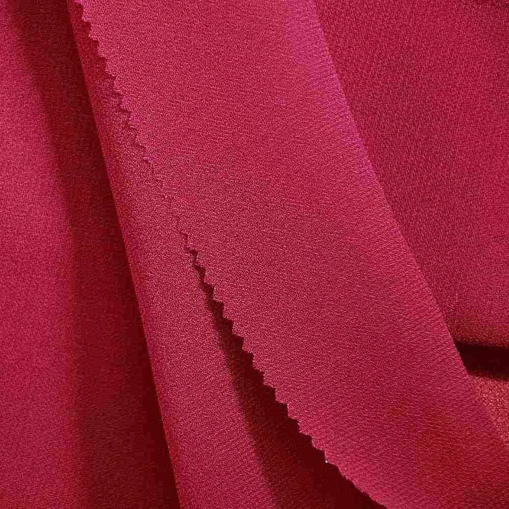 PEBBLE 200 / FUCHSIA 220 / 100% Polyester Pebble Georgette