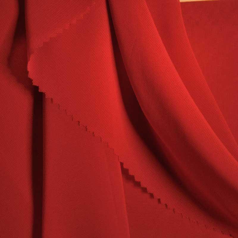 HI-CHS 600 / RED 1192 / 100% Poly Hi-Multi Chiffon -Made in Korea