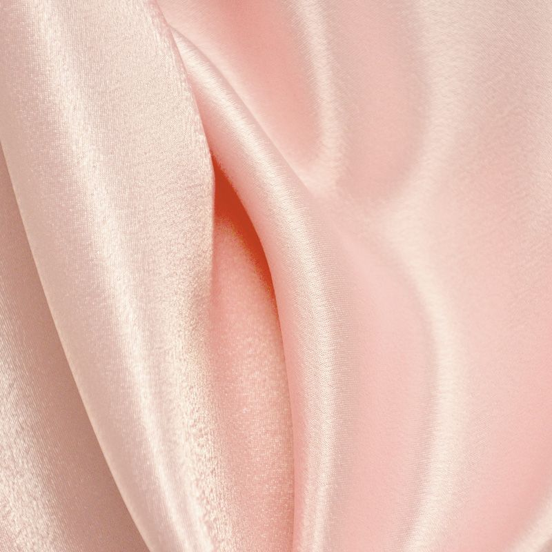 BACK CREPE / PINK 156 / 100% Polyester Back Crepe Satin