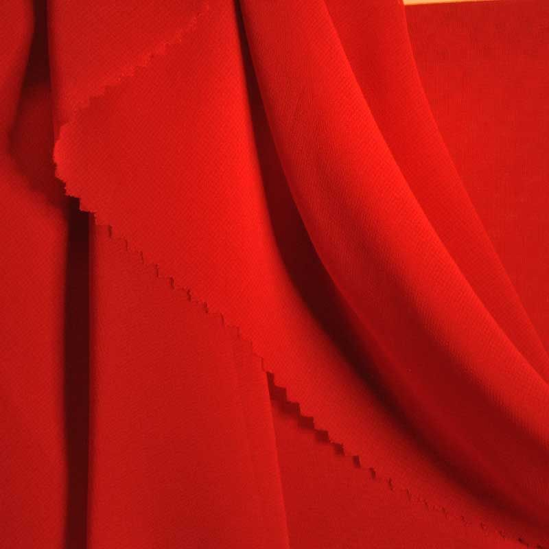 HI-CHS 600 / RED 1190 / 100% Poly Hi-Multi Chiffon -Made in Korea
