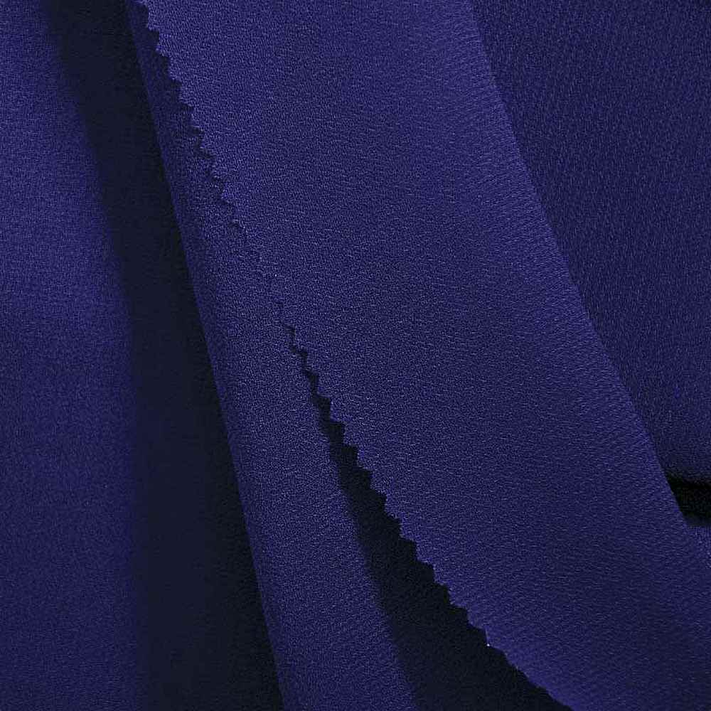 PEBBLE 200 / ROYAL/BLUE 778 / 100% Polyester Pebble Georgette