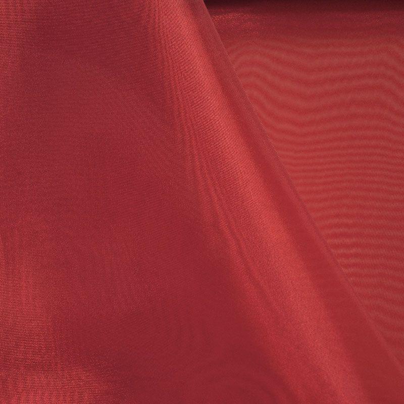 101 CRYSTAL / BURGUNDY/L 532 / 100% Polyester Crystal Organdy